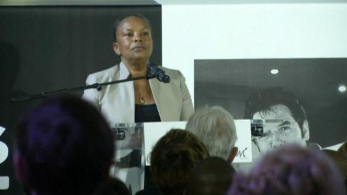وزيرة العدل الفرنسية كريستيان توبيرا