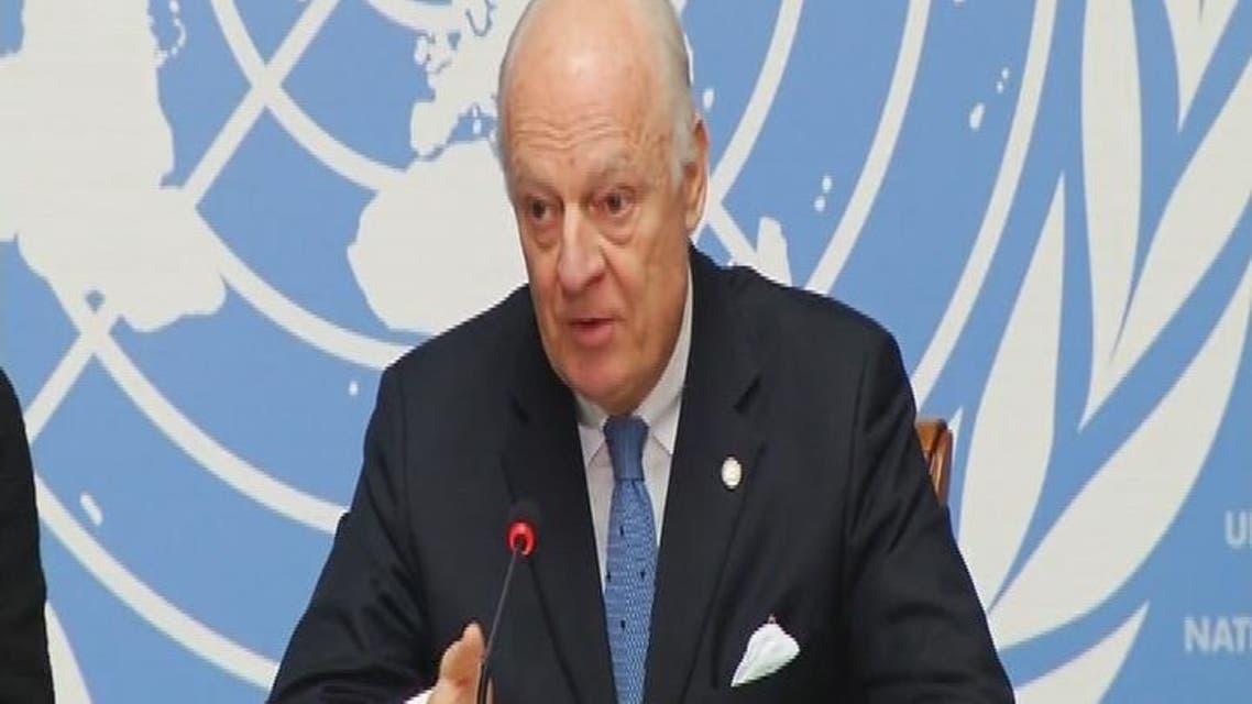 THUMBNAIL_ دي مستورا: أي حل في سوريا سيكون وفقا لمقررات جنيف 1