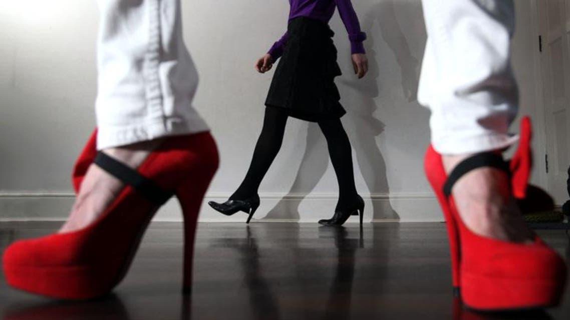 high heels كعب عالي