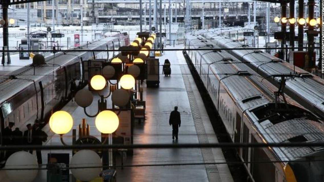 محطة قطارات في باريس