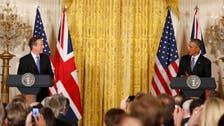 Obama: U.S., Britain need capability to track extremist groups online