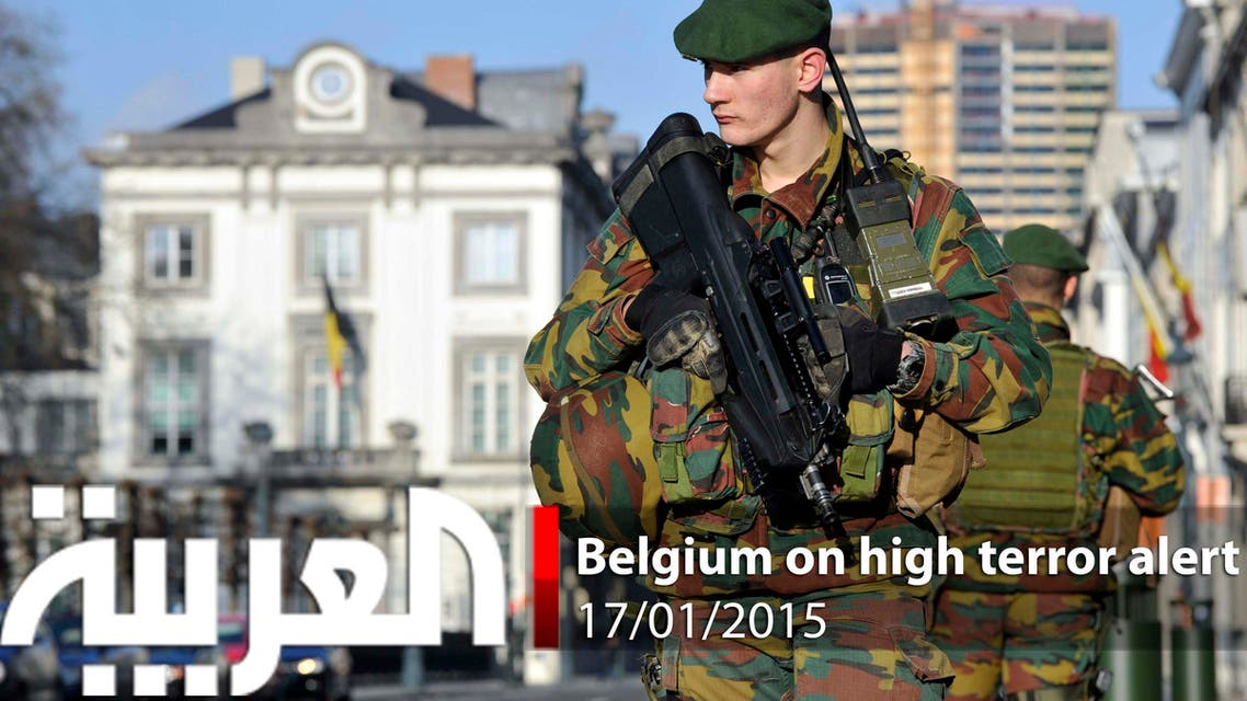 Belgium on high terror alert