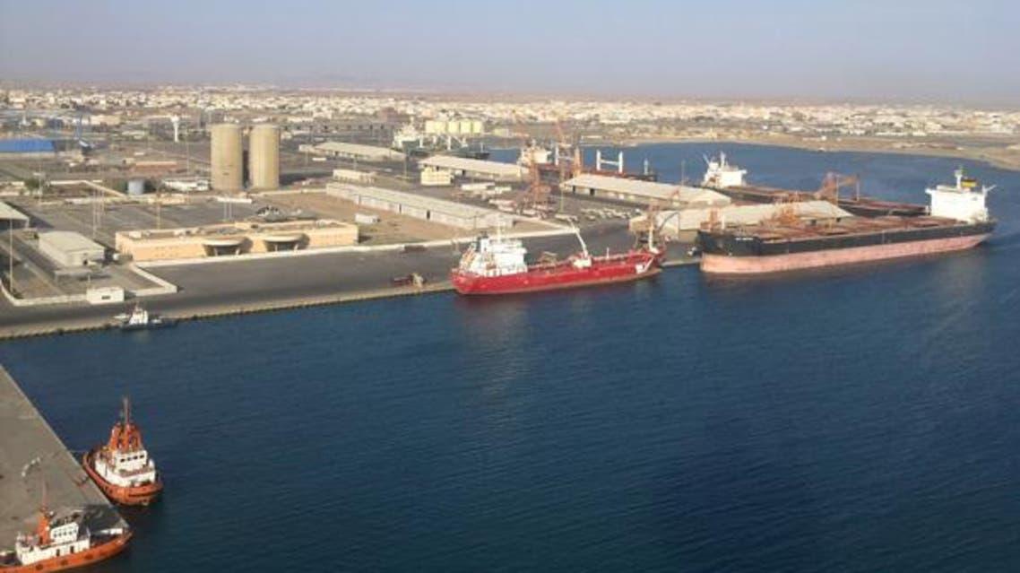 ميناء ينبع السعودية موانئ