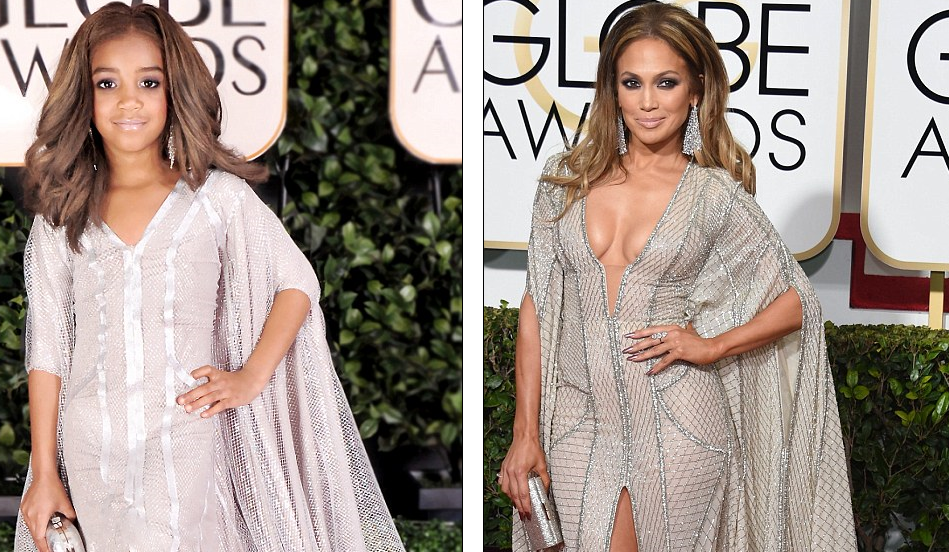 A Dressing Up Like Jennifer Lopez Photo Courtesy Tricia Messeroux And Ap