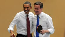 Obama tells Cameron: Britain's place is in European Union