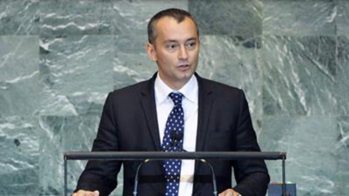 المبعوث الخاص للأمين العام للأمم المتحدة نيكولاي ملادينوف