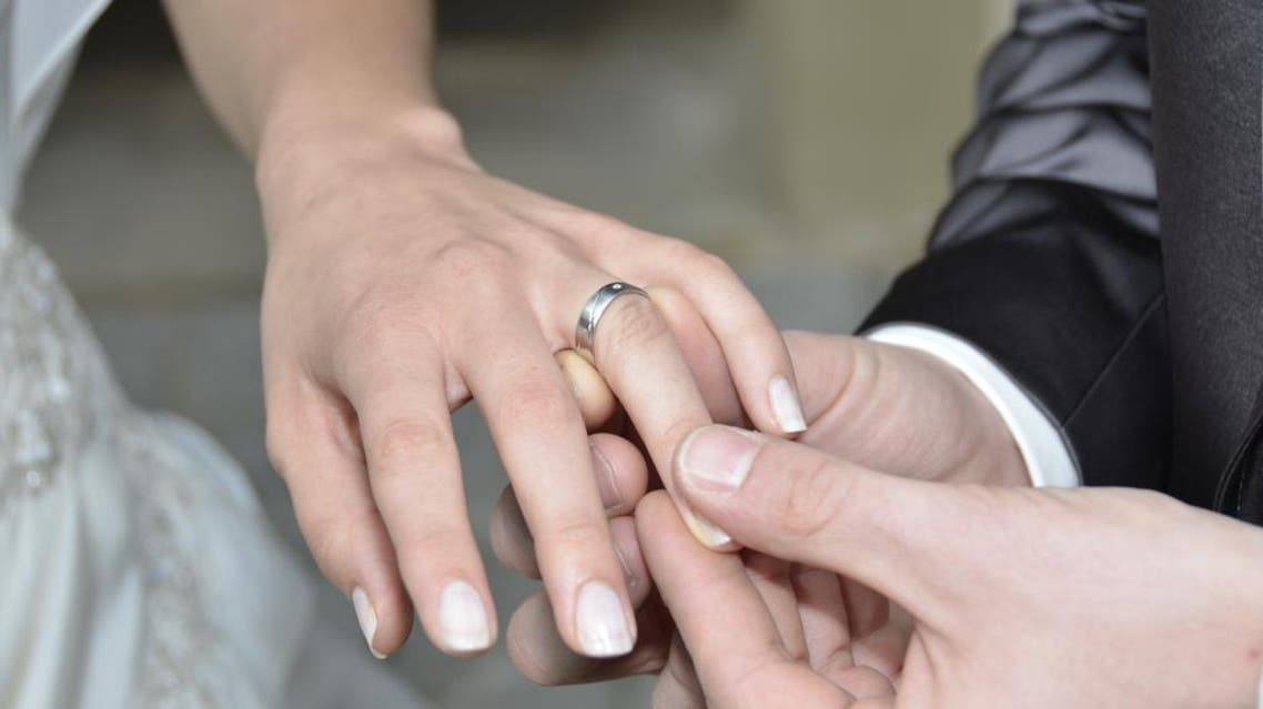 marriage ring love bride groom wedding shutterstock