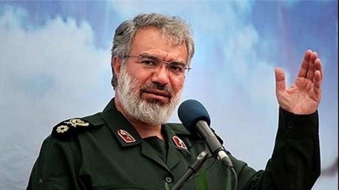 قائد القوة البحرية للحرس الثوري الإيراني الأدميرال علي فدوي