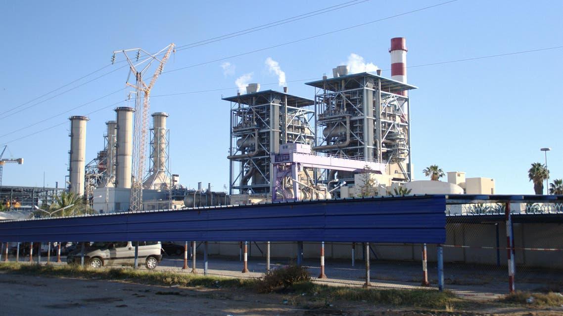 محطة كهرباء في مصر
