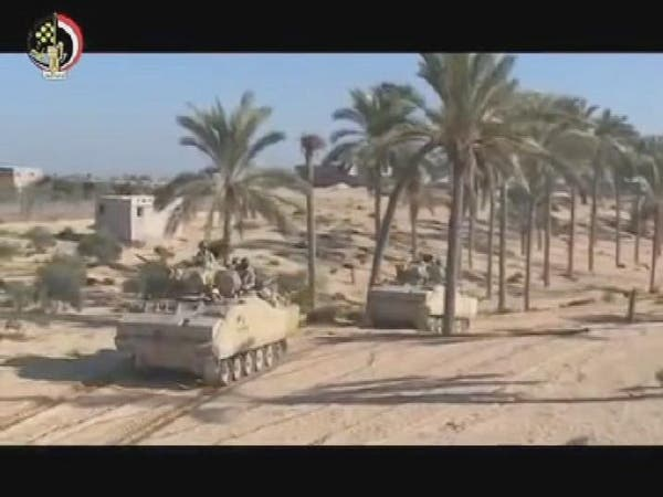 فيديو.. عمليات تصفية الإرهابيين في سيناء