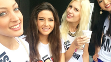 Miss Lebanon slammed after Miss Israel selfie