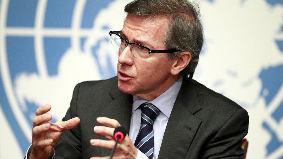 Special Representative of the Secretary-General for Libya and Head of United Nations Support Mission in Libya (UNSMIL) Bernardino Leon. (Reuters)