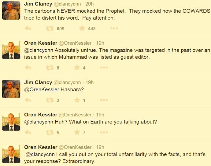 التلاسن التويتري بين كلانسي وكاسلر