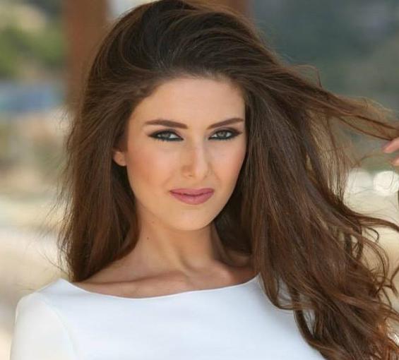 Miss Lebanon Saly Greige (Photo courtesy of Twitter)