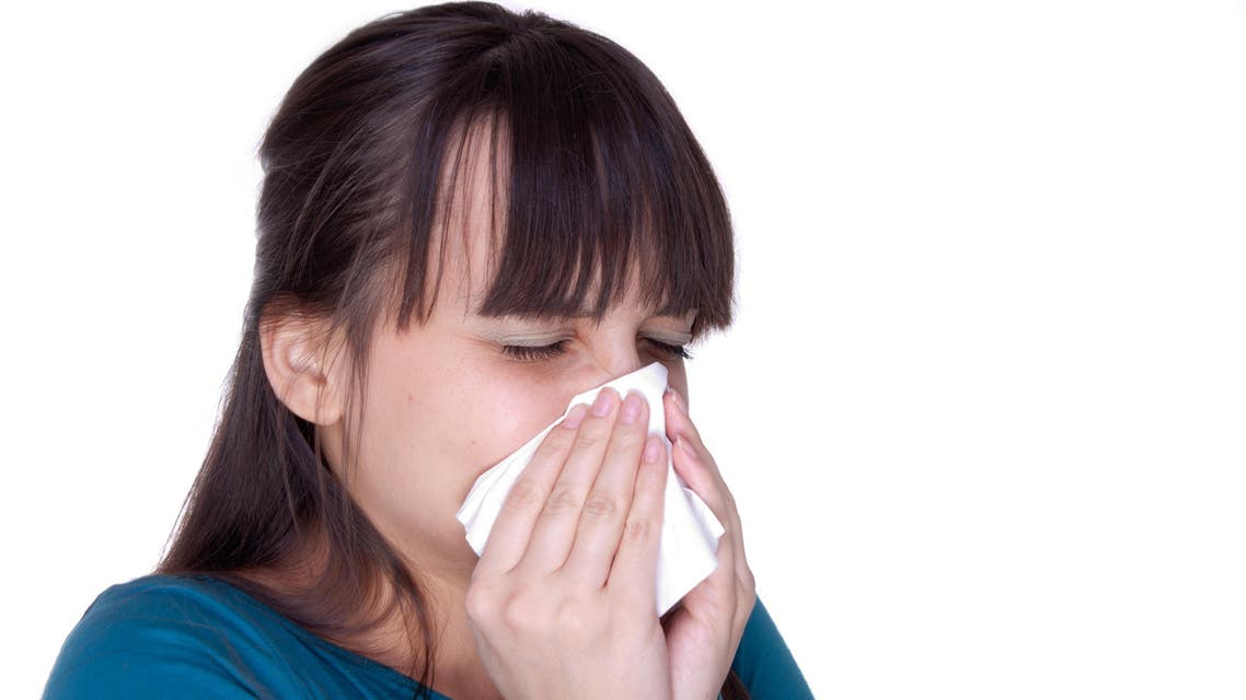 الرشح الانفلونزا نزلات البرد