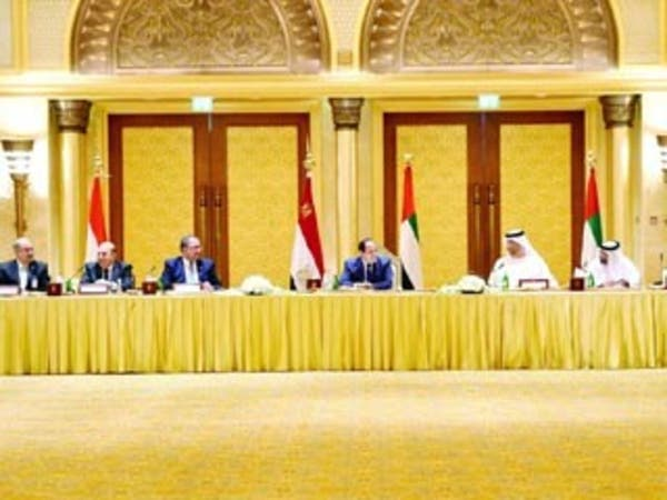 3 مقترحات إماراتية لتعزيز الاستثمار مع مصر