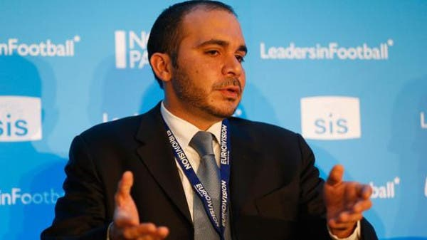 With the expected backing of European body UEFA, Prince Ali Bin Al-Hussein's hopes of becoming the first Asian president of FIFA. (File photo courtesy of Getty)