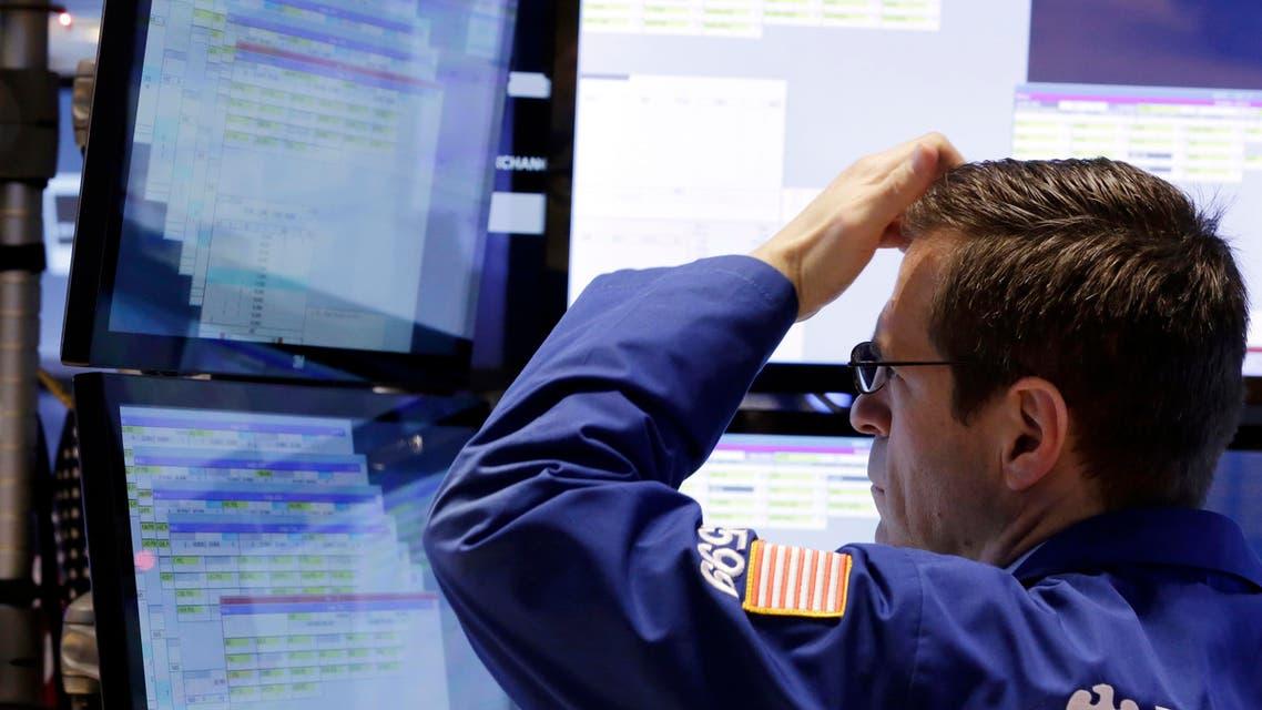 New York Stock Exchange AP