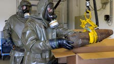 Syria starts razing chemical weapons sites: OPCW