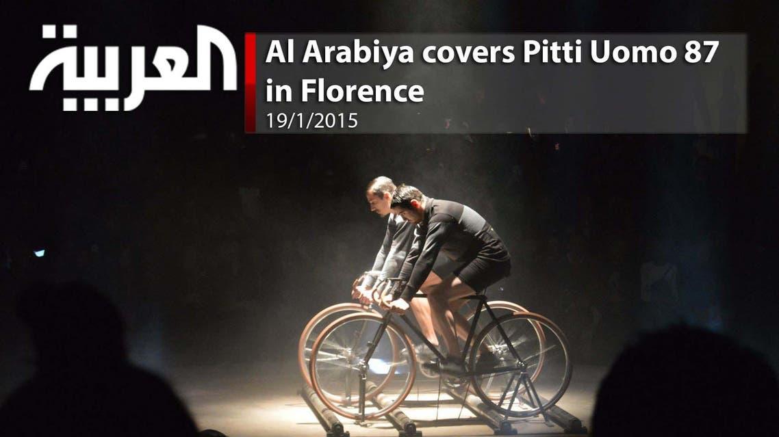 Al Arabiya's coverage of Pitti Uomo 87 in Florence