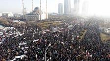 Chechnya holds huge rally over Charlie Hebdo cartoons