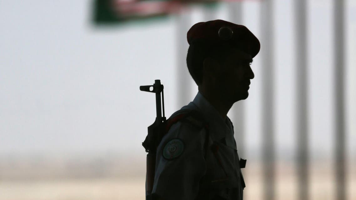 A Saudi policeman stands guard in Riyadh, Saudi Arabia. (File photo: AP) SUADI police