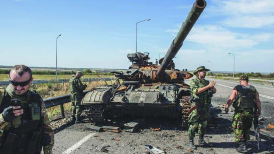 انفصاليون شرق أوكرانيا