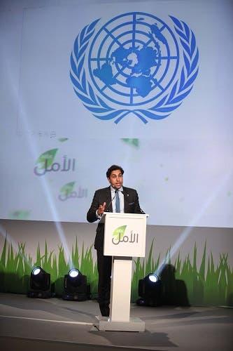 أحمد الهنداوي مبعوث الأمم المتحدة