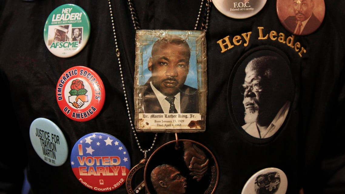 Tributes to civil rights leader Martin Luther King Jr. were held around the United States on Monday. (Reuters)