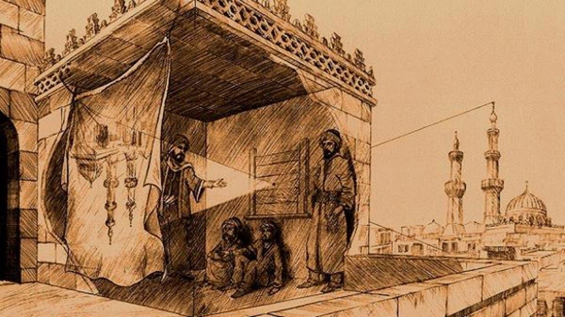 ابن الهيثم يثقب الصندوق الأسود فيدخل الضوء عبر القمرة ناقلا الصورة
