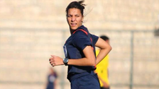 Egypt's 1st female football referee hits the pitches