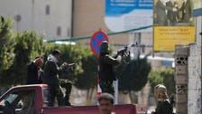 حوثی جنگجو یمن کے صدارتی محل میں داخل