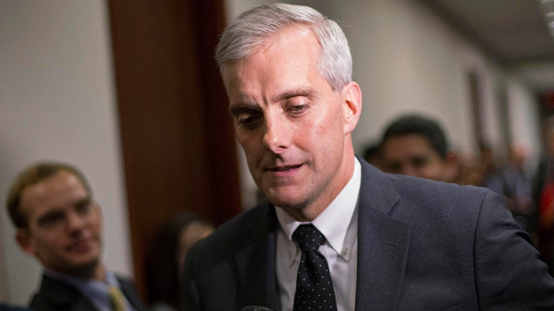 White House Chief of Staff Denis McDonough arrives to attend a U.S. House Democratic Caucus meeting at the U.S. Capitol in Washington, in this file photo taken December 11, 2014. Reuters