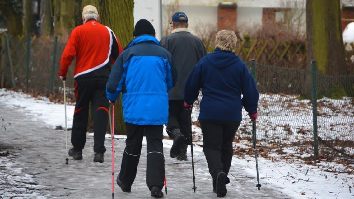 Walking group Shutterstock