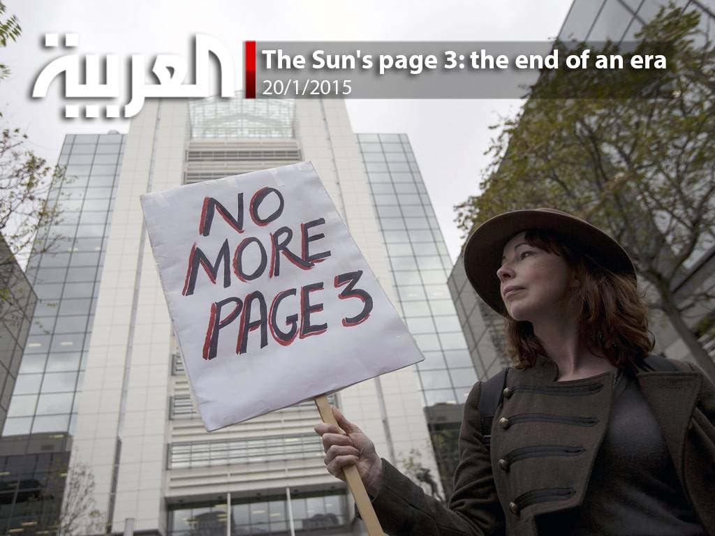 The Sun's page three: the end of an era