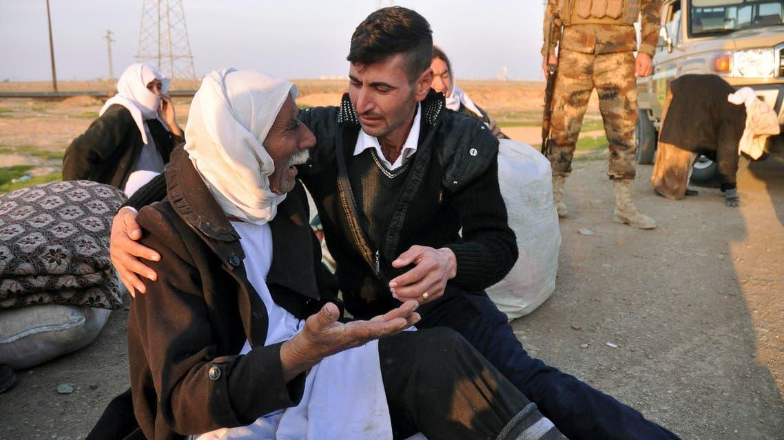 Yazidis seek refuge