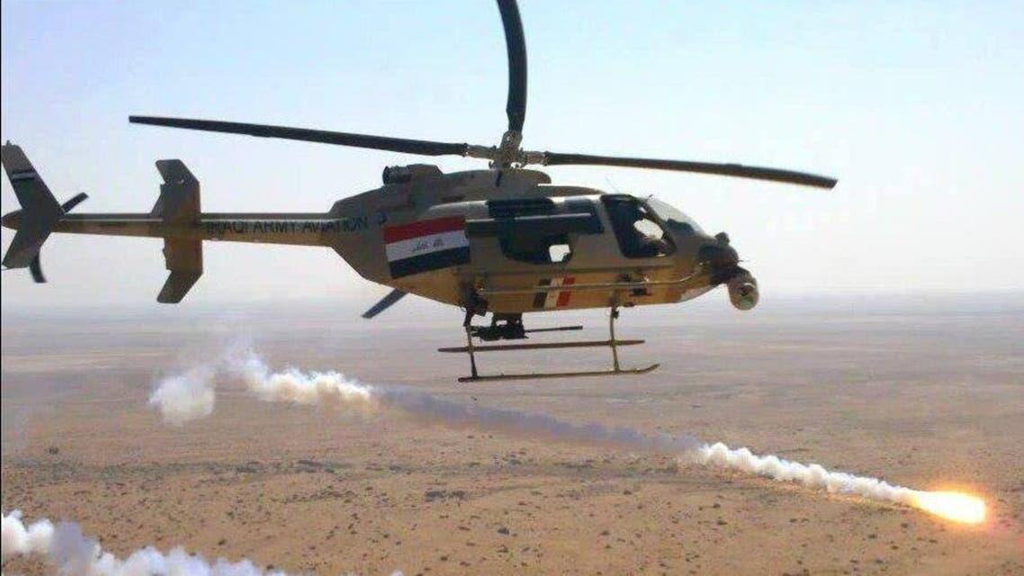 الطيران العراقي يستهدف داعش