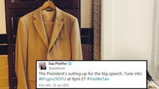 'Yes we tan!' White House plays on Obama's suit