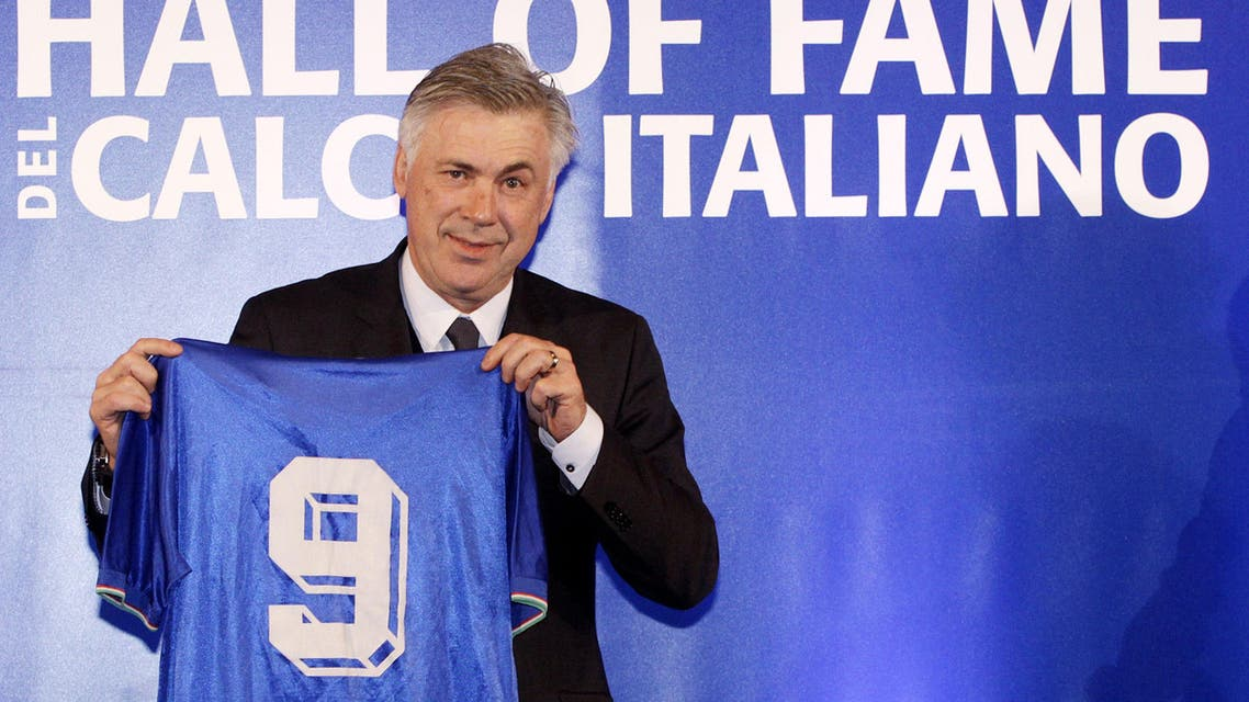 Real Madrid's manager Carlo Ancelotti AP