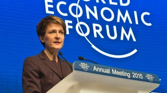 Globalization's inequities need to be addressed: Swiss leader