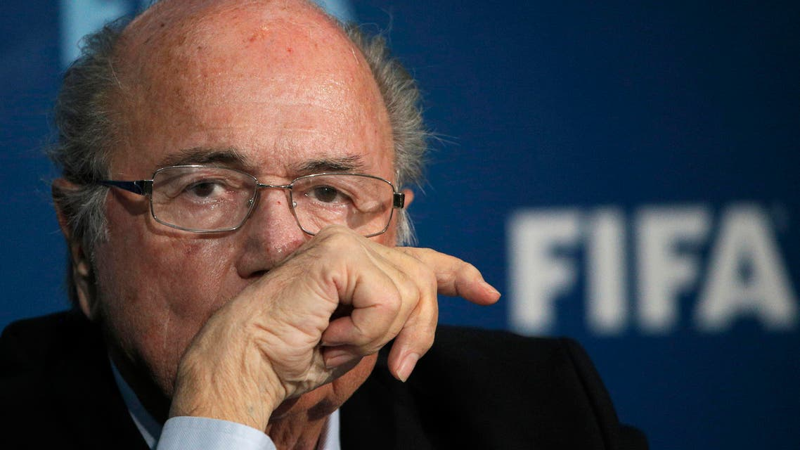 FIFA President Sepp Blatter attends a press conference in Marrakech, Morocco, Friday, Dec. 19, 2014. (File photo: AP)