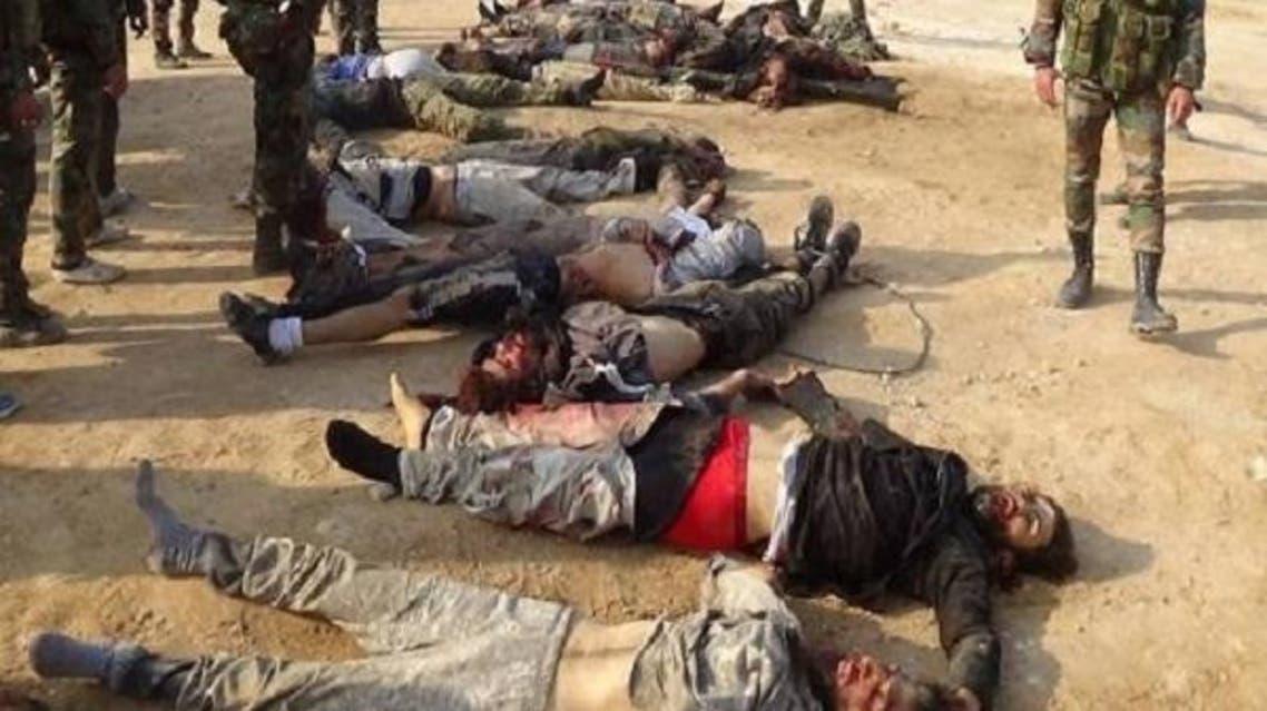 جثث لمقاتلي داعش في العراق