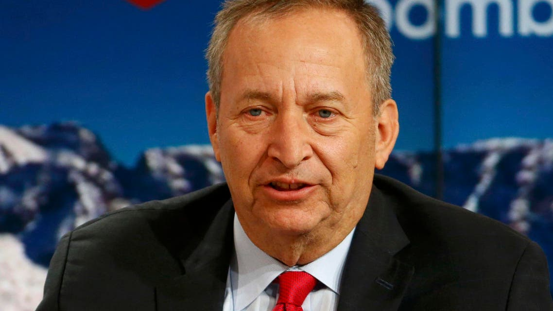 Lawrence Summers, Charles W. Eliot University Professor, Harvard University, speaks at the Ending the Experiment event in the Swiss mountain resort of Davos Jan. 22, 2015.  (Reuters)