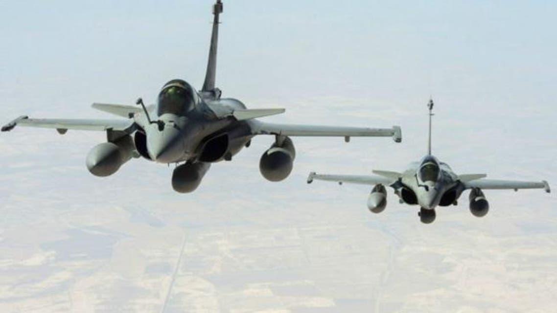 """طائرات فرنسية تشارك في غارات ضد """"داعش"""" (أرشيفية)"""