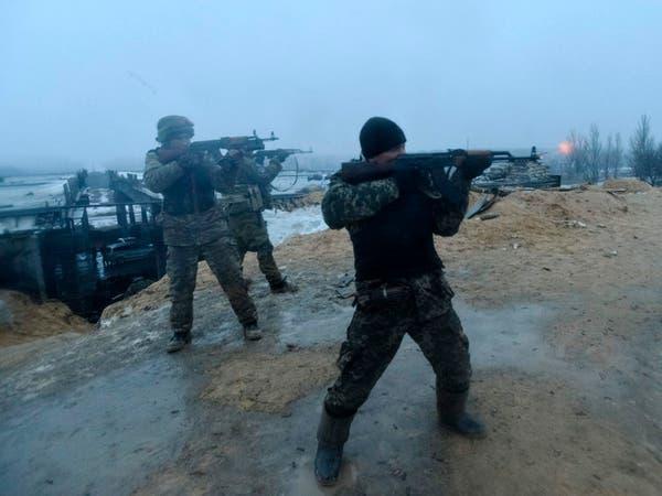 كيري يندد بمطامع الموالين لروسيا في شرق أوكرانيا