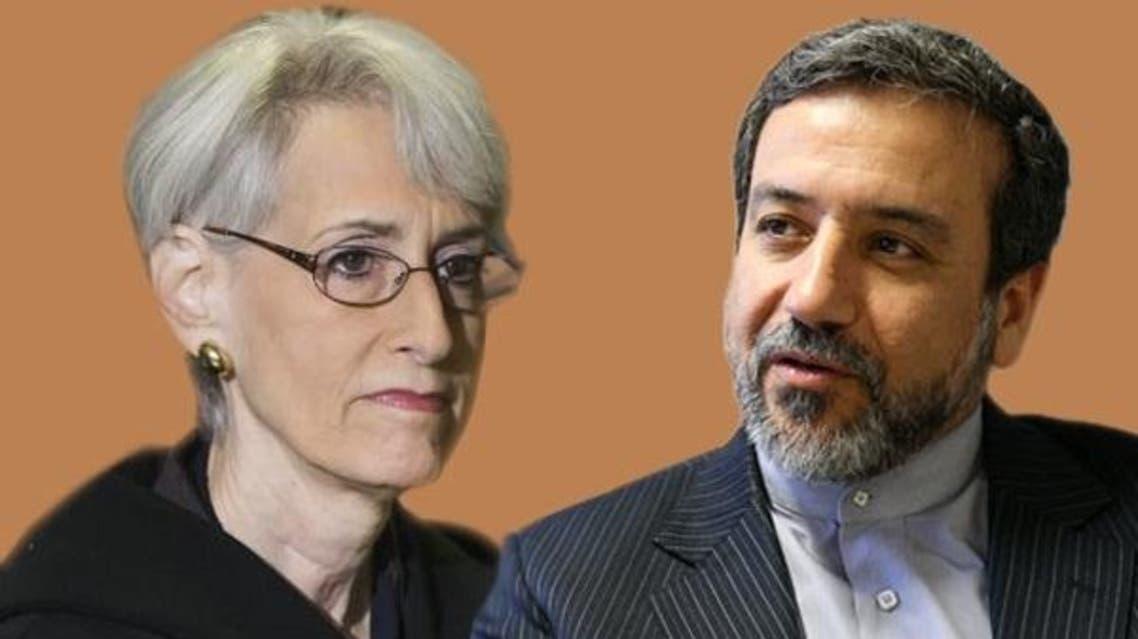 عباس عراقجي و وندي شيرمان
