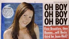 Topless page three returns to Britain's The Sun