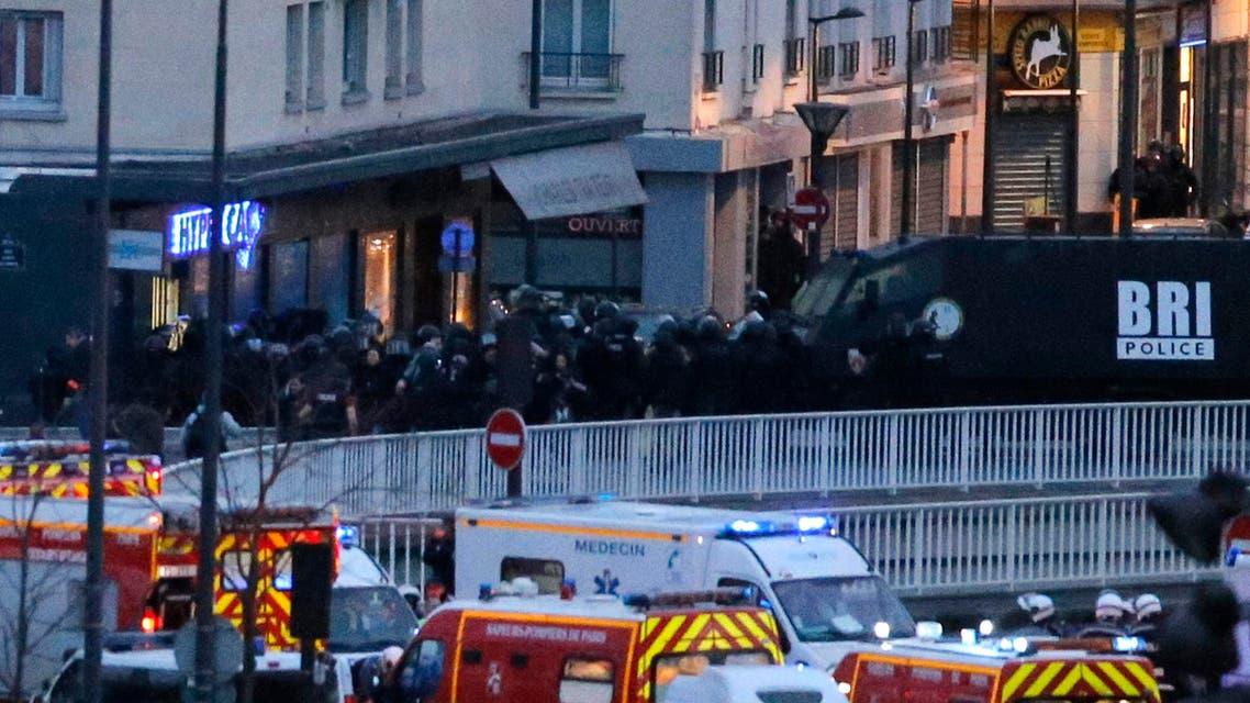 Paris gun siege (AP)