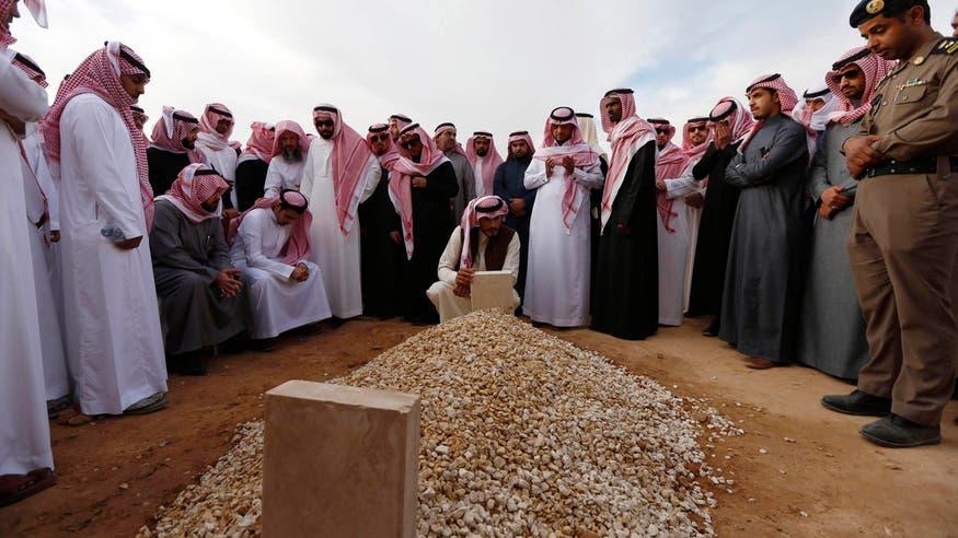 Simple burial for late Saudi King Abdullah