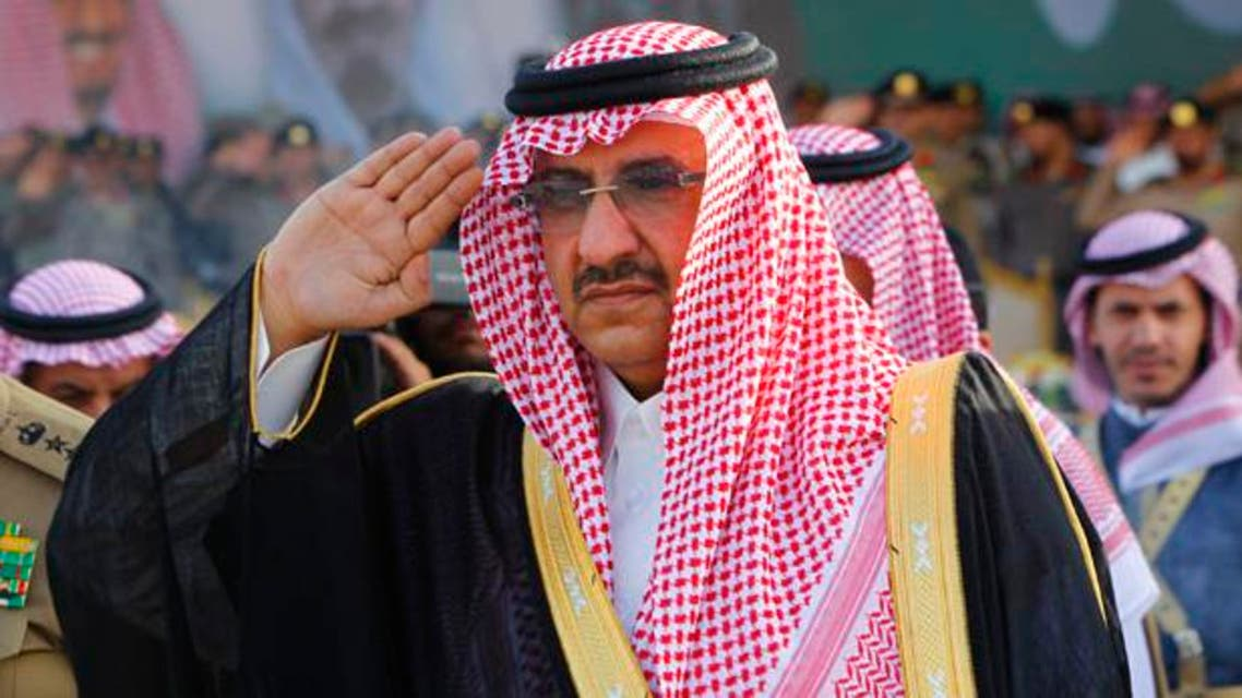 Prince Mohammad bin Nayef is nephew of the kingdom's new ruler, King Salman bin Abdulaziz. (File photo: Reuters)